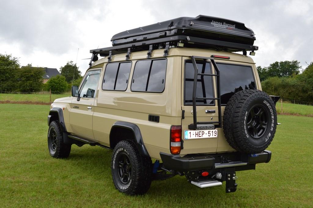 Toyota Land Cruiser Hzj78 Tente De Toit James Baroud